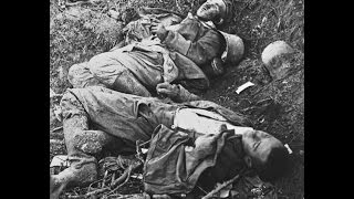 3D Stereoscopic Photographs of Dead French and German Soldiers at Verdun During World War 1