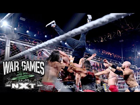 McAfee goes high-risk, Io Shirai soars from atop the cage and more highlight NXT TakeOver: WarGames