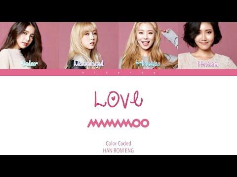 Mamamoo - Love(Goblin OST) COLOR CODED HAN/ROM/ENG