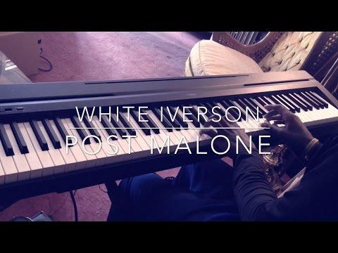 White Iverson - Post Malone Piano Cover