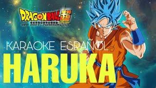 HARUKA - DRAGON BALL SUPER ED 9 [KARAOKE EN ESPAÑOL/ADRIÁN BARBA]🌙