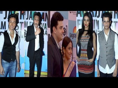 Vidya Balan, Sharman Joshi, Tiger Shroff & Ors At The 5th Jagran ...