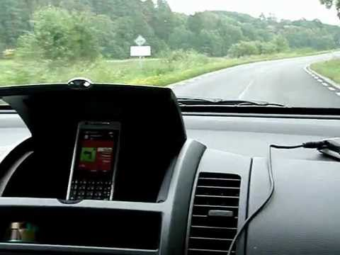 Sony Ericsson P1i GPS