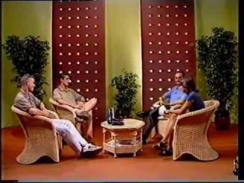 Carmen Alcayde y Jose Ant. San Martin en TVM. Año 1998.