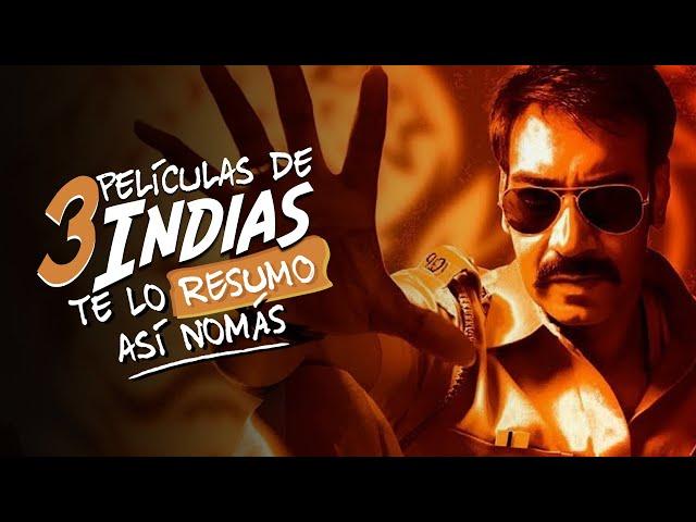 Te Lo Resumo | 3 Películas Indias Así Nomás