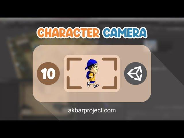 Membuat Kamera Mengikuti Objek Karakter di Unity3D | Tutorial Unity3D untuk Pemula Eps. 10