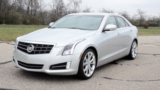2013 Cadillac ATS 3.6 - WR TV POV Test Drive