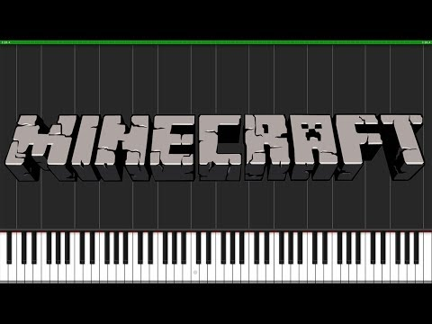 Dry Hands - Minecraft [Piano Tutorial] (Synthesia) // Torby Brand