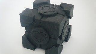 3d Printed Portal Companion Cube Puzzle Box