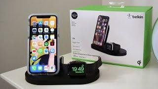 Belkin BoostUp Wireless Charging Dock (iPhone/Apple Watch) | AirPower Alternative