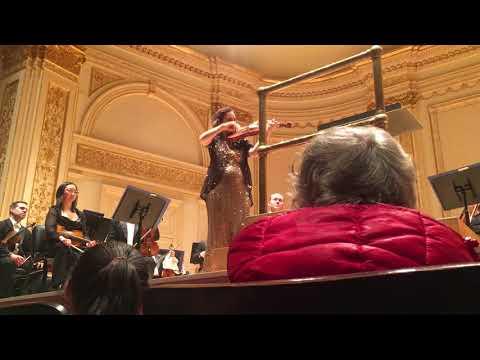 Hilary Hahn plays Bach Partita No. 3 Gigue at Carnegie Hall