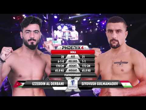 Izzeddin Al Derbani vs Siyovush Gulmamadov Full Fight (MMA) | Phoenix 4 Dubai | December 22nd 2017.