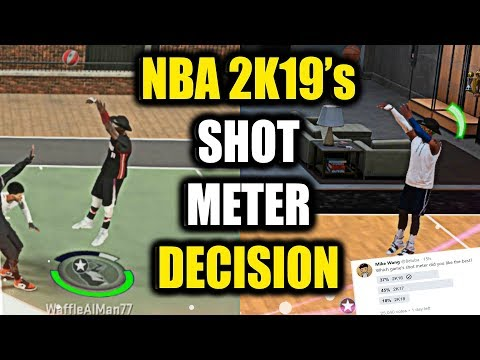 THE SHOT METER NBA 2K19 WILL USE!?