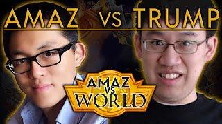 [Hearthstone] Amaz VS World: Week 1 Ep 3 - Amaz VS Trump