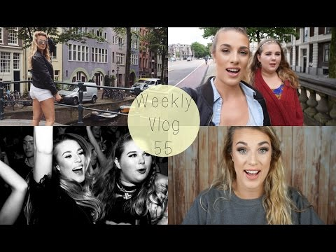 Weekly Vlog 55: I went to Amsterdam