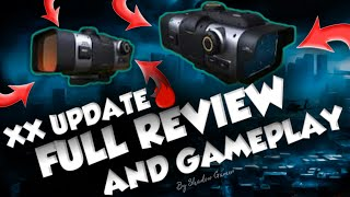 What's new in XX UPDATE ? And Gameplay With Attachments | shadow Gamer Mc5😻