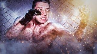 KAMYK W KLATCE W WALCE MMA!! HIT!!