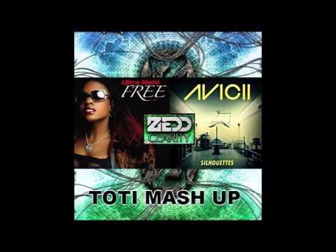 Avicii, Zedd, Ultra Natè - Silhouettes Clarity Free (TOTI Mash Up)