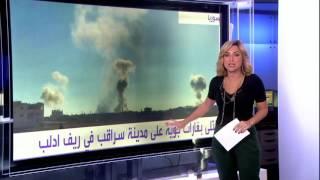 #أنا_أرى إضرابا في أسواق الغوطة الشرقية وأهلها يطالبون بإنقا
