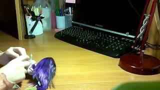 Видео урок как сделать кофточку для куклы МХ
