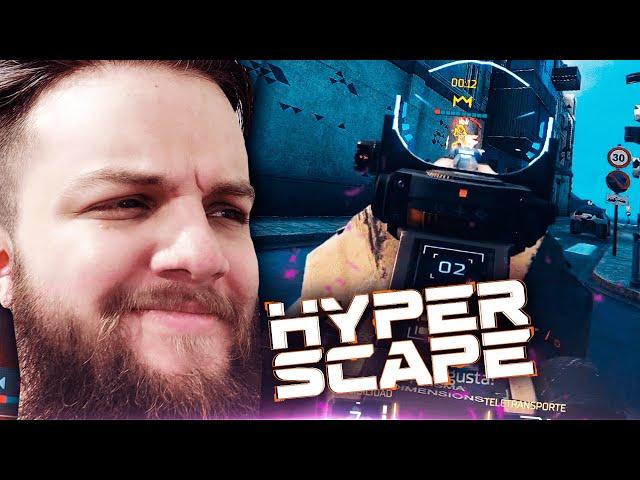 Este podría ser el Battle Royale mas rápido de todos... | Hyper Scape
