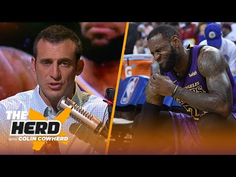 Doug Gottlieb explains what LeBron James' injury means for the Los Angeles Lakers | NBA | THE HERD thumbnail