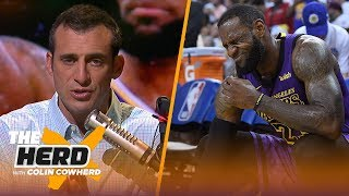 Doug Gottlieb explains what LeBron James' injury means for the Los Angeles Lakers | NBA | THE HERD