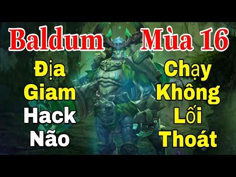 Top trợ thủ Baldum Mùa 16 đi SP hack não chi thuật - Cách chơi và lên đồ trang bị bảng ngọc phù hiệu