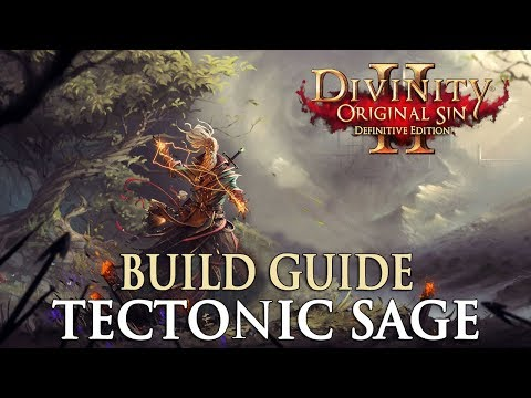 Divinity Original Sin 2 Definitive Edition Builds - Tectonic Sage