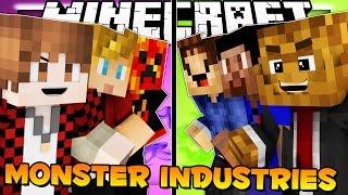 THE PACK SHOWDOWN Minecraft Monster Industries w/ Vikkstar123, Woofless & JeromeASF