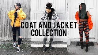 WINTER COAT AND JACKET COLLECTION