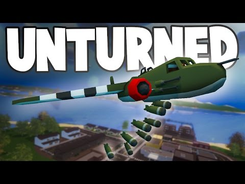 Unturned World War II PvP w/ Nylex: B-25 BOMBING RUN!!! (Custom WW2 Modded RP Server PvP) thumbnail