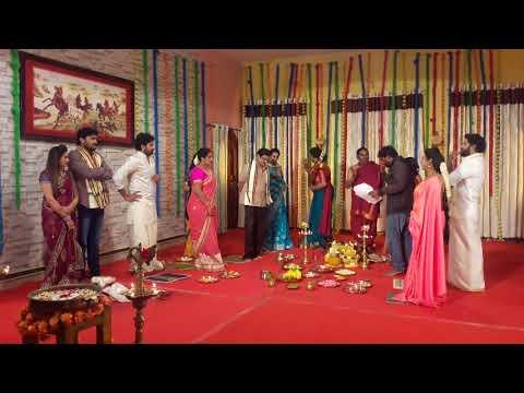 Mathrudevobhava Serial making Fun on sets