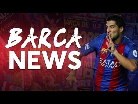 Messi feeling better | Suárez contract talks | BARCA NEWS