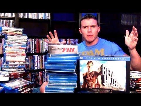 47 Minute BIG Bad-Ass BLU-RAY Movie Collection Video!!