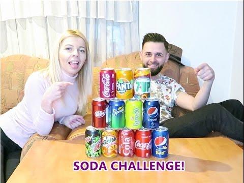 Soda Challenge !  ( Ghiceste ce suc bei ! )