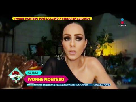 ¿Ivonne Montero pensó en quitarse la vida? Ella responde | De Primera Mano