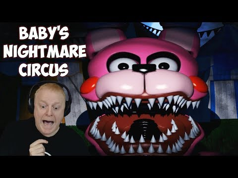 BABY'S NIGHTMARE CIRCUS - BONNET RULES + FUNTIMES NIGHT | FNAF FREE ROAM - FUNTIME FOXY AND FREDDY!!