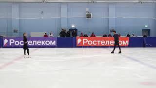 Ольга Мамченкова и Марк Волков РТ КП 2021