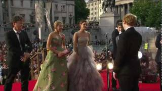 """Harry Potter and the Deathly Hallows - Part 2""  Red Carpet Premiere"