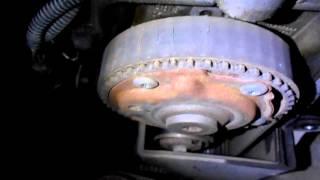 фиат альбеа,убитый ремень грм и треск в моторе №1