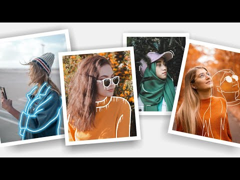How To Edit Your Photos On PicsArt | 6 Outline Tricks