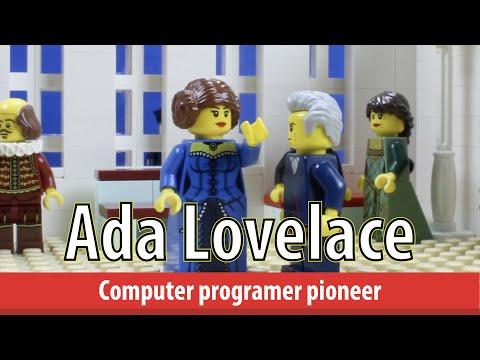 Ada Lovelace's life in LEGO bricks