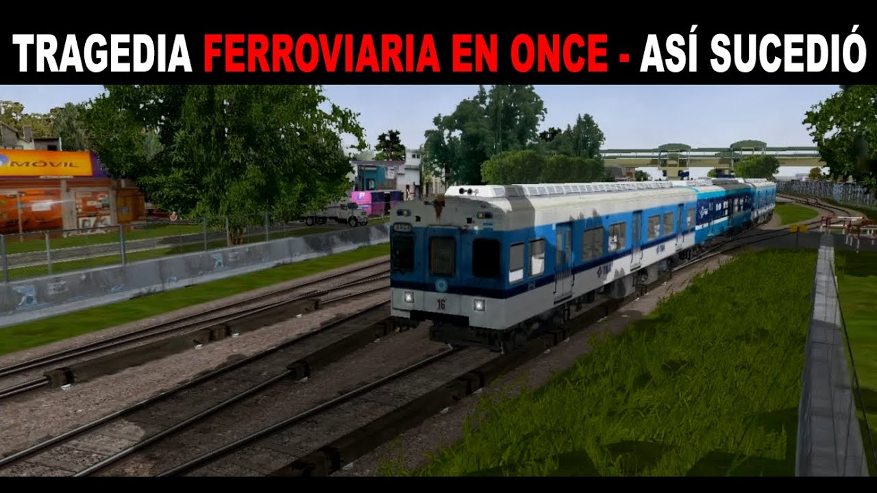 Tragedia ferroviaria en Once (Reconstrucción completa)