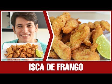 COMO FAZER ISCA DE FRANGO EMPANADO | Receita