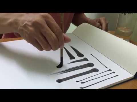 Học viết thư pháp (buổi 1)- thư pháp Quang Lĩnh
