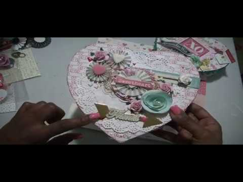 XOXO~Crate Paper, Love Notes, Valentine Heart Boxes