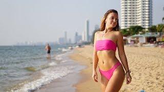 Летим в ТАИЛАНД ПЛЯЖ в ПАТТАЙЕ РУССКИЕ ДУРАЧАТСЯ Pattaya Beach