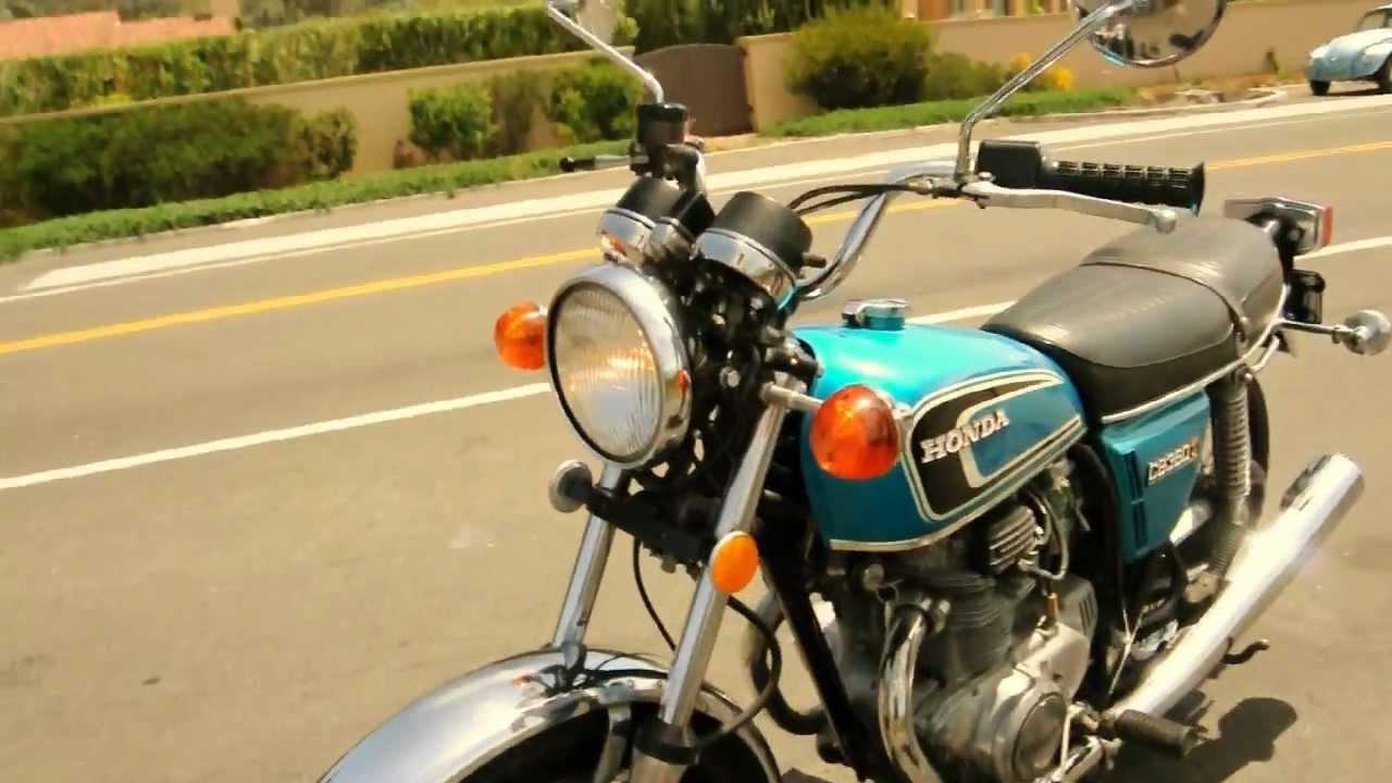 1975 Honda CB360T - All Original - YouTube