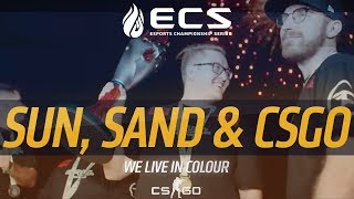 Gambar cover Sun, Sand and CS:GO. Thank you to the players and fans.